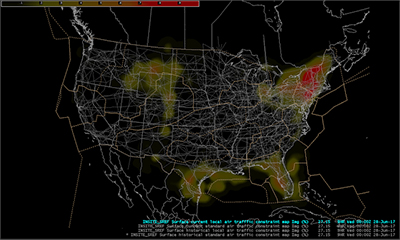 GSD News - Us air flow map